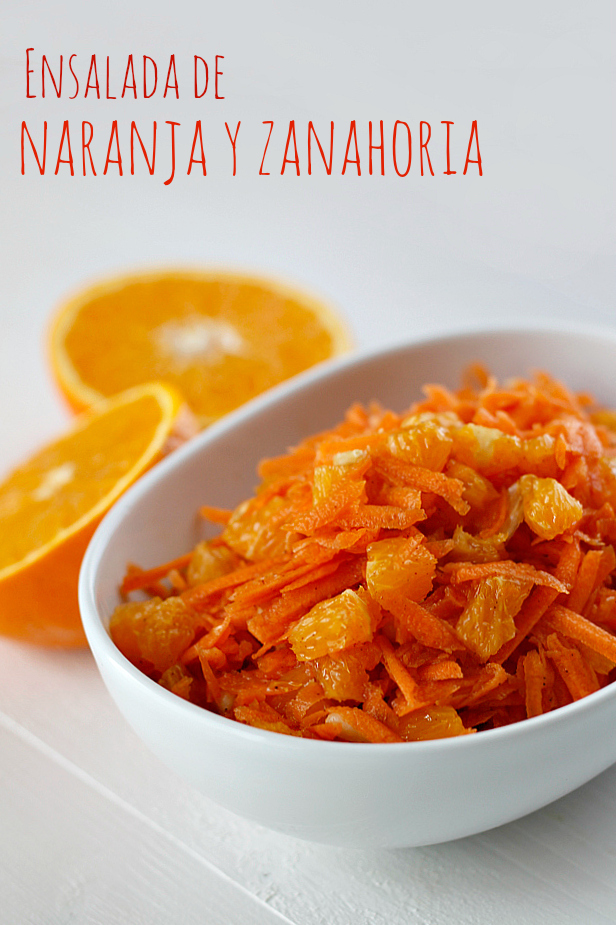 Ensalada de naranja y zanahoria